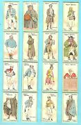 Cigarette Cards.player Tobacco.characters From Dickens 1st.1923.full Set Of 25
