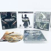 Ps3 Call Of Duty Lot Of 5 - Ghosts Sealed Black Ops Modern Warfare 2 3 + 4