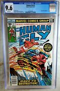 Human Fly 2 Newsstand Marvel 1977 Ghost Rider Cgc 9.6 Nm+ Whitepage Comic S0126