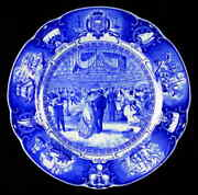 Wedgwood United States Naval Academy Blue Dinner Plate 5556113