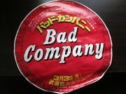 Bad Company 1975 Japan Tour Incomplete Promo Poster Budokan Paul Rodgers Free