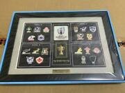 Rugby World Cup 2019 Japan Pin Badge Limited Goods Set Difficult To Obtain Rare