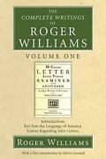 The Complete Writings Of Roger Williams By Roger Williams English Paperback Bo