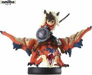 New Nintendo Amiibo Monster Hunter Stories One-eyedrathalos And Rider Boy 3ds Wii