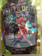 🔥2021 Legacy Trevor Lawrence Gold Cracked Ice Rookie Auto 8/15 Clemson 🏈