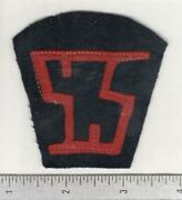 Ww 1 Us Army Service Of Supply Quartermaster Patch Inv W577