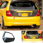 For Honda Civic 7th Ep3 02-2006 Carbon Fiber Outer Rear Tailgate Trunk Lid Decor