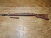 Ww 11 German Mauser K-98 Stock With Hand Guard  Proof Marks On Metal