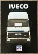 Iveco Ford 16 Tonne Rigids Commercial Sales Brochure 1986 86/325