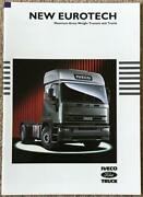 Iveco Ford New Eurotech Range Commercial Sales Brochure 1995 Br18b/95