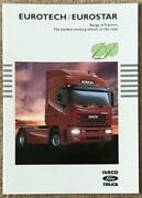 Iveco Ford Eurotech/eurostar Tractors Commercial Sales Brochure 1997 Br39/97
