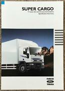 Iveco Ford Super Cargo Commercial Specification Brochure 1993 Sp32/93