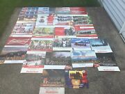 Vintage Budweiser Clydesdale Horse Calendar Lot Beer Collectible