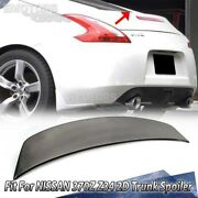 2020 Fit For Nissan 370z Z34 2-door V Look Rear Trunk Spoiler Wing Painted Color