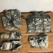 Molle Ii 200 Round Saw Gunner2,flash Bang, 100 Round Utility And Bandoleer Pouch