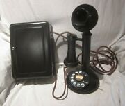 Western Electric 50al Dial Candlestick E/w Metal Subset.