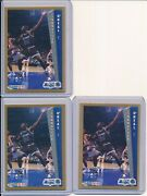 Shaquille Oneal 1992-93 Fleer Nba Rookie Card Lot 3 Rc 401 Orlando Magic