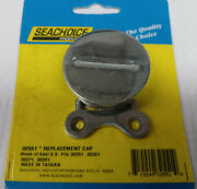 Seachoice 32551 Replacement Fill Stainless Steel Cap Fits 32251 61 71 And 81 Tanks
