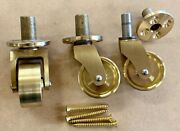 Solid Brass Grand Piano Casters