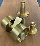 Huge Solid Brass Grand Piano Casters