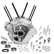 S And S Cycle Super Stock Alternator Style Crankcase 3.625in. Bore Natural 31-0004
