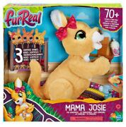 New Furreal Mama Josie The Kangaroo Interactive Plush Toy 70+ Sounds And Motions