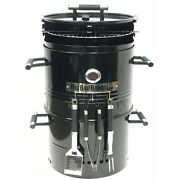 Bbq Grill 5 In 1 Barrel Smoker Pizza Oven Table Fire Pit Barbecue Grilling Tools