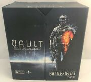 Calibur11 Licensed Vault Battlefield 3 Ps3 Case For Ps3 3d Armored Gaming - New