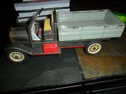 Vintage Tin Lithograph Toy Truck Friction Drive Made In Japan 11