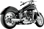Supertrapp 2-into-2 Staggered Internal Disc Exhaust System Chrome 628-78060