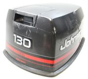 284799 Johnson Evinrude 1995-97 Top Cowling Engine Cover Hood 130 Hp V4 2 Stroke