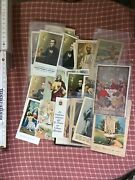 Nice Lot Of Prayers Holy Cards 1920 - 1940's More Then 30 Pcs.from Italy