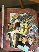 Nice Lot Of Prayers Holy Cards 1980 - 1990's More Then 100 Pcs.from Italy