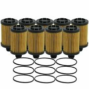 Wix Set Of 9 Engine Motor Oil Filters For Jeep Ram 3.0l Tdi
