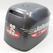 5000419 Evinrude Johnson 1999 Top Cowling Hood Engine Cover 25 35 Hp 3 Cylinder