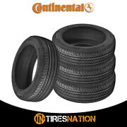 4 New Continental Procontact Gx 245/45r19 102h Tire