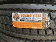 11r24.5 Cosmo Ct708 + Closed Shoulder Drive Commercial Truck Tires 4tire