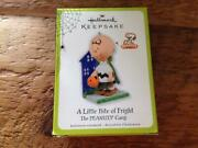 Hallmark Ornament The Peanuts Gang 2011 A Little Bite Of Fright Charlie Brown