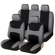 9x Polyester Fabric Auto Seat Cover For Car Truck Suv Van Universal Protector