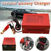 Maintenance-free Battery Charger 12v/24v 10a 140w Output For Electric Car Repair
