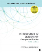 Peter G. Northouse-introduction To Leadership - Internation Uk Import Book New
