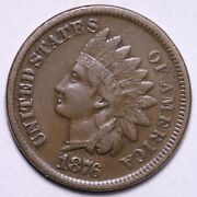 1876 Indian Head Cent Penny Choice Xf Free Shipping E532 Wpt