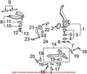 Genuine Oem Front Left Lower Suspension Control Arm For Acura 51360tk4a01
