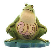 Jim Shore I Eat What Bugs Me Polyresin Pint Sized Lazy Frog 4047081