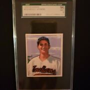 1950 Bowman 132 Mickey Vernon Indians Sgc Mint 9 Pop Of 1---none Higher