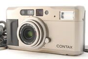 Near Mint Contax Tvs Point And Shoot 35mm Zoom Film Camera From Japan A517