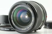 【top Mint W/ Hood】 Canon New Fd Nfd 24mm F/2 Wide Angle Mf Prime Lens From Japan