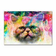 Colorful Abstract Skull Animals Wall Art Picture Canvas Poster Home Decoration