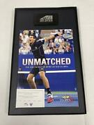 Unmatched Us Open Program With Piece Of Court Key Chain