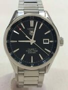 Secondhand Tagheuer Automatic Watch Analog Stainless Steel Blk 2020 06 Oh